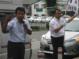 2013年7月20日 選挙戦最終日!応援演説