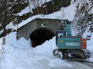 秩父市(旧大滝村)大雪による道路状況調査(1)