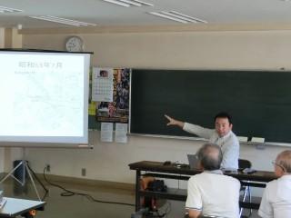 2014年8月7日 南前川地区地震対策出前講座